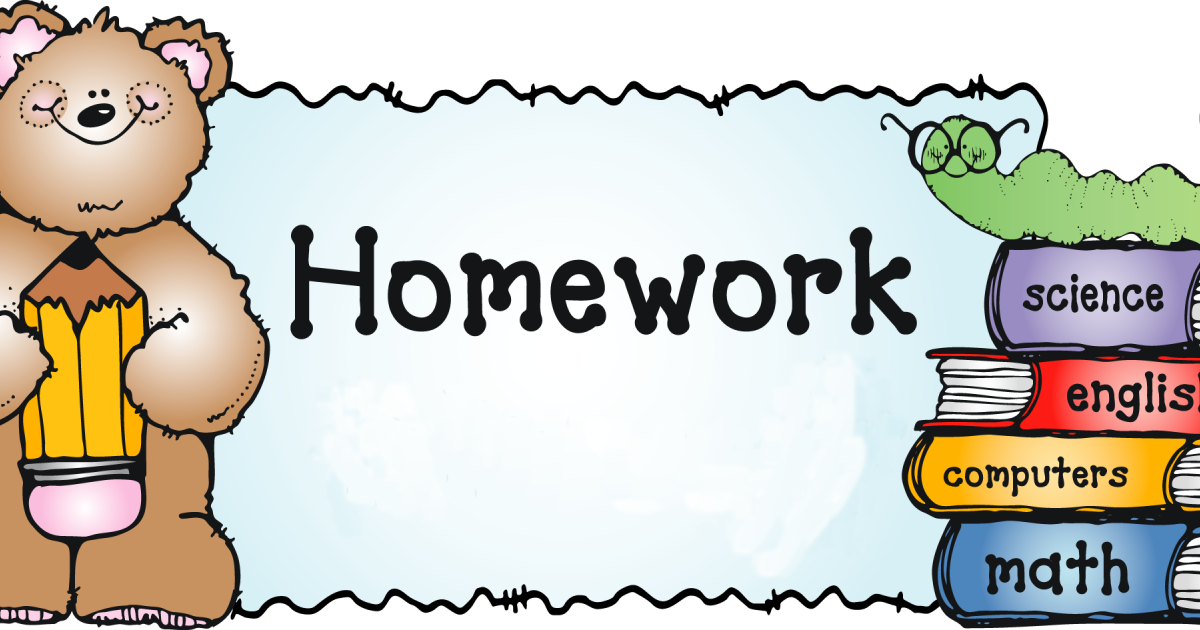Homework clipart kindergarten homework. Help w ms heidi