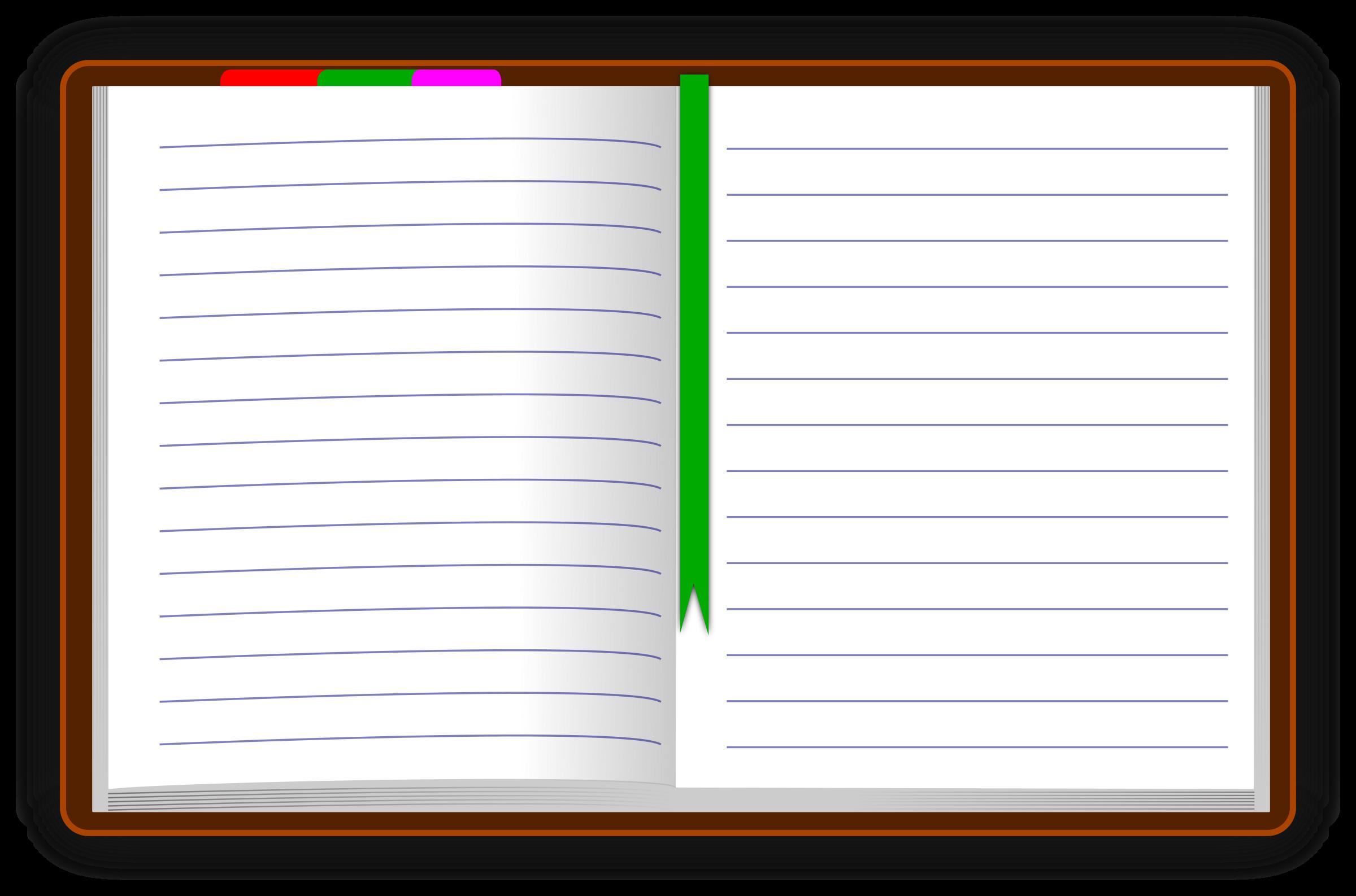 Clip art panda free. Notebook clipart diary