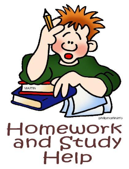 . Homework clipart homework help