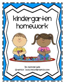 Homework clipart kindergarten homework. Or morning work weeks