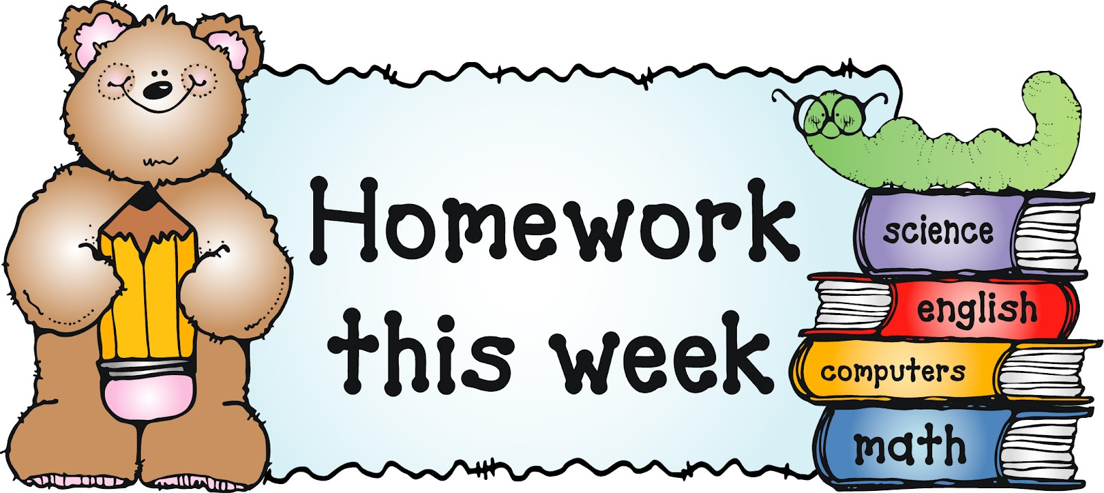 Free images of download. Homework clipart elementary school