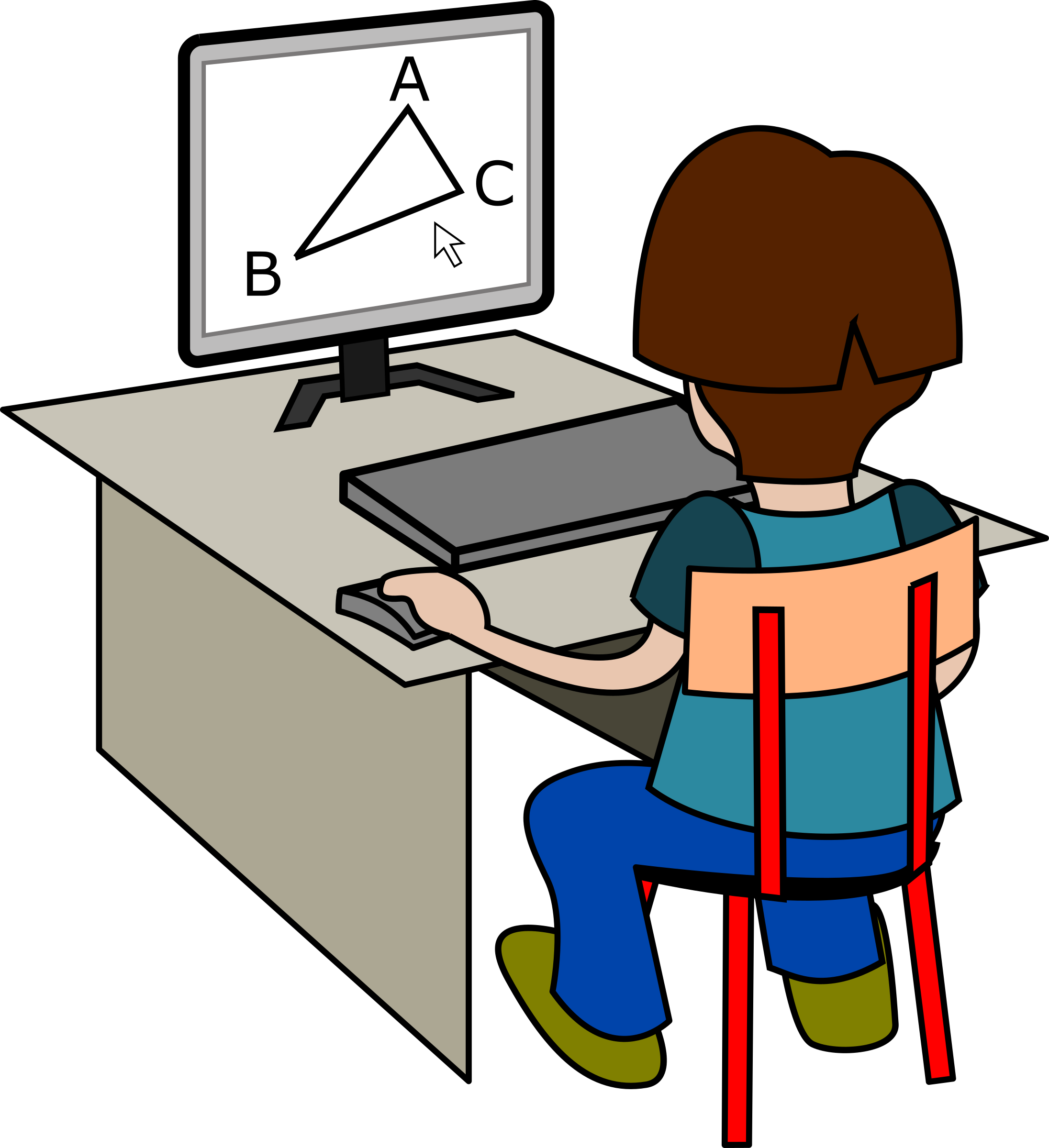 Computer clipart homework. Free on dumielauxepices net