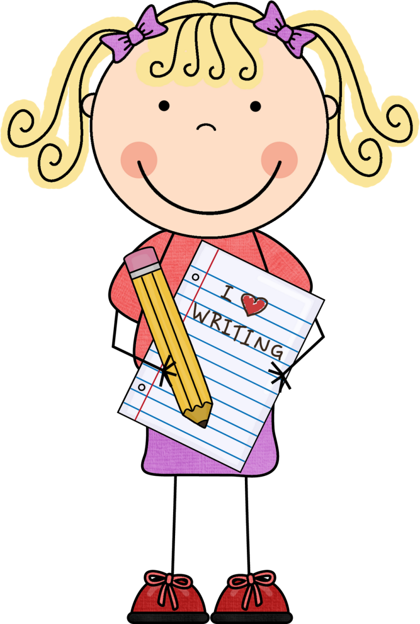 collection of girl. Lady clipart writer