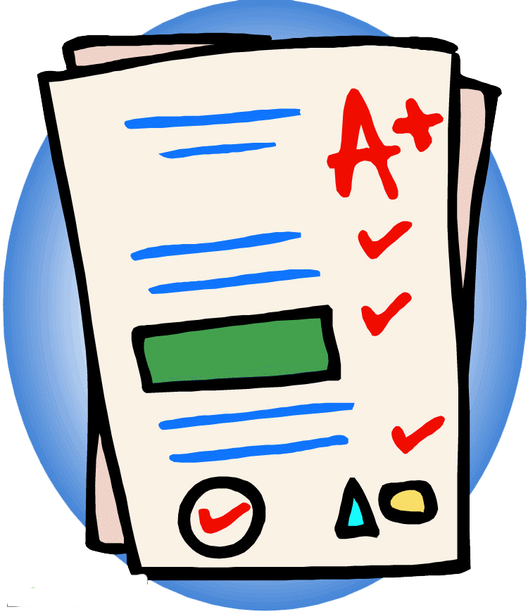 Unit early american republic. Test clipart exam sheet