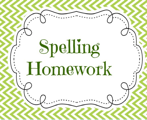 Free cliparts download clip. Clipart homework spelling homework