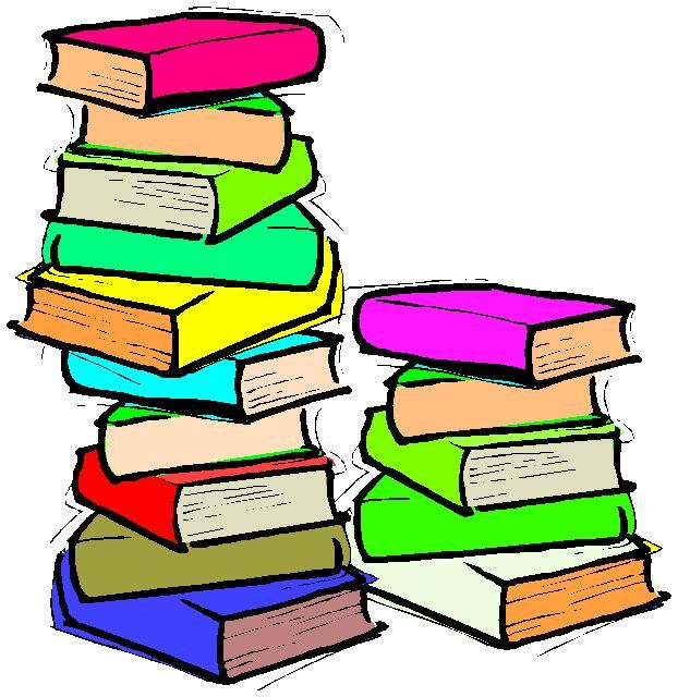 Clip art for ollie. Library clipart stack book