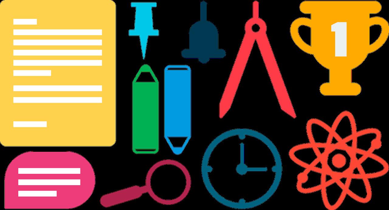 An ed tech blog. Tired clipart homework