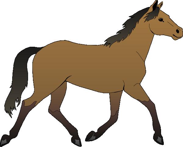 Clipart horse. Show