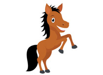 Clipart horse. Free clip art pictures