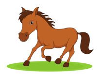 Animals clipart horse. Free clip art pictures