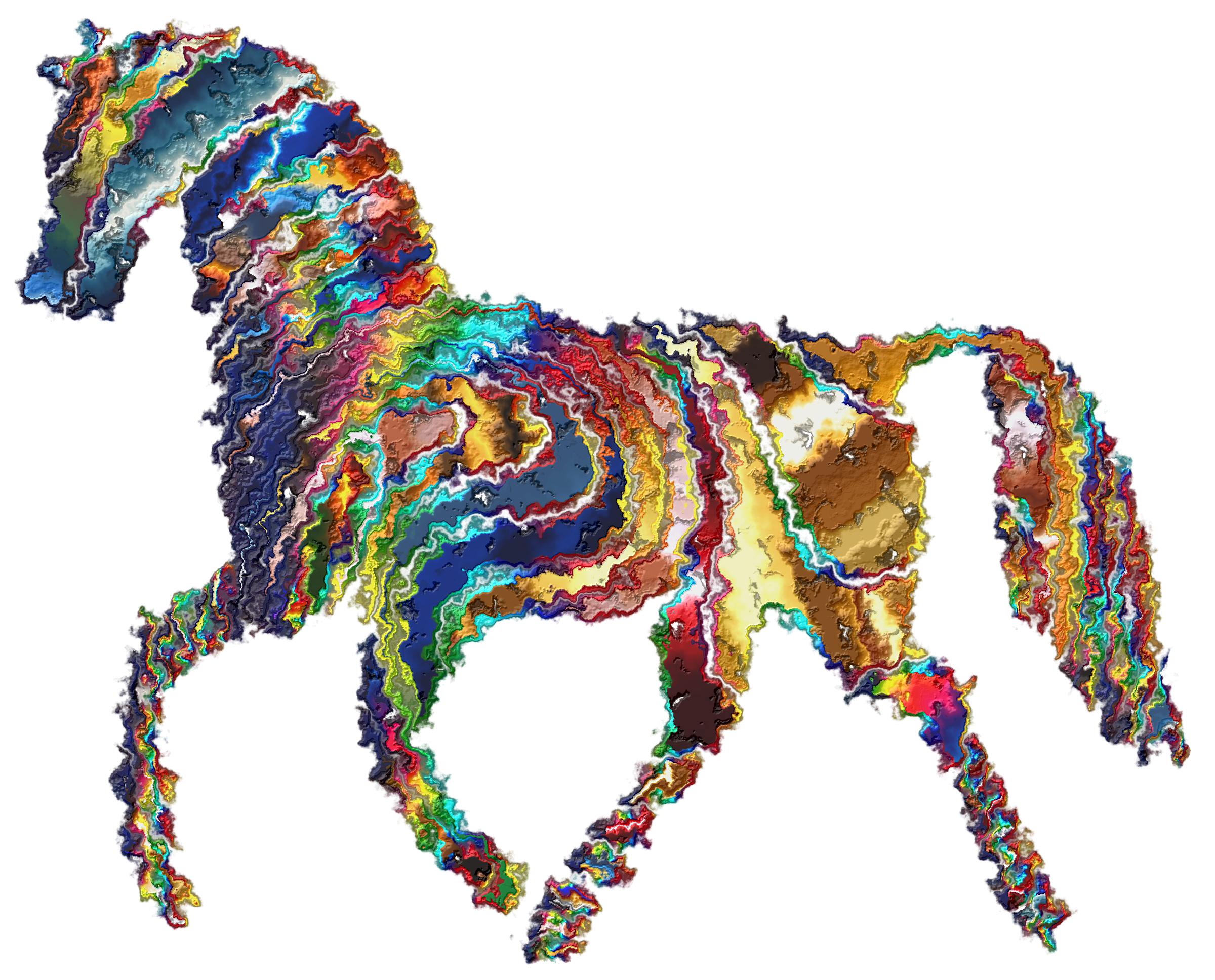Horse clipart spring. Psychedelic big image png