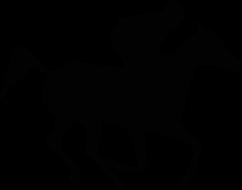 Horse clipart race horse. Arabian silhouette at getdrawings