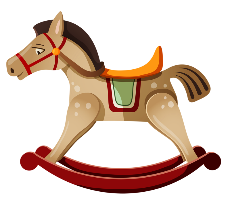 Horses clipart baby shower.  png scrapbook toy