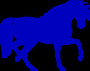 Horses clipart blue. Horse silhouette clip art