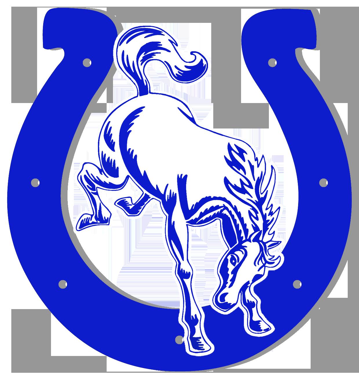 Horseshoe jokingart com horse. Horses clipart blue