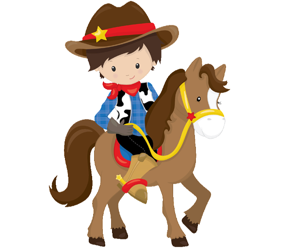 Horses clipart cowboy. Age with birthday invitation