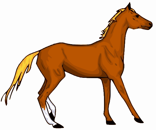 Horse clipart printable. Free images of horses