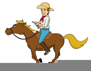 Clipart horse cowboy. Save a ride free