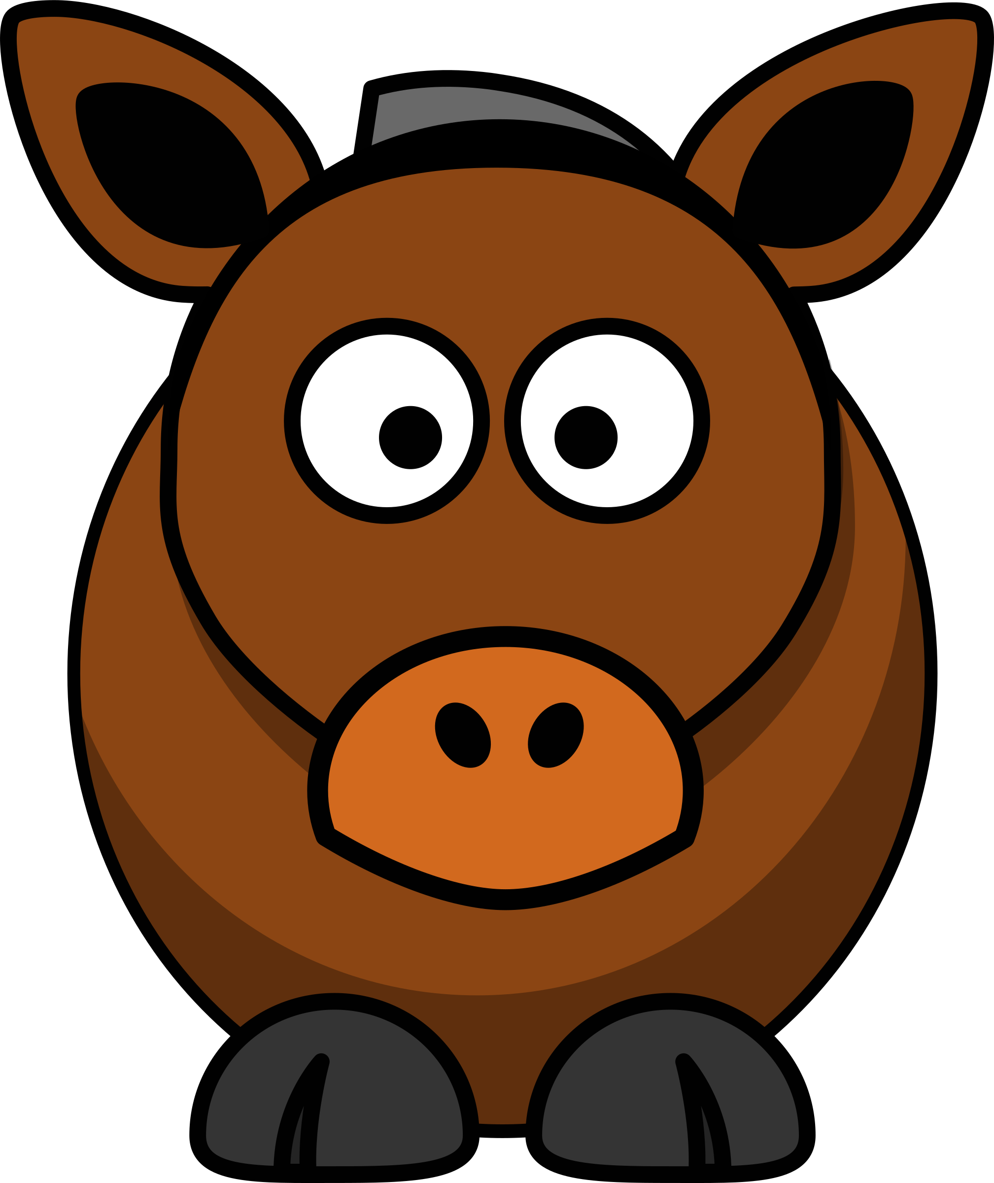 Image of horse free. Trout clipart cartoon