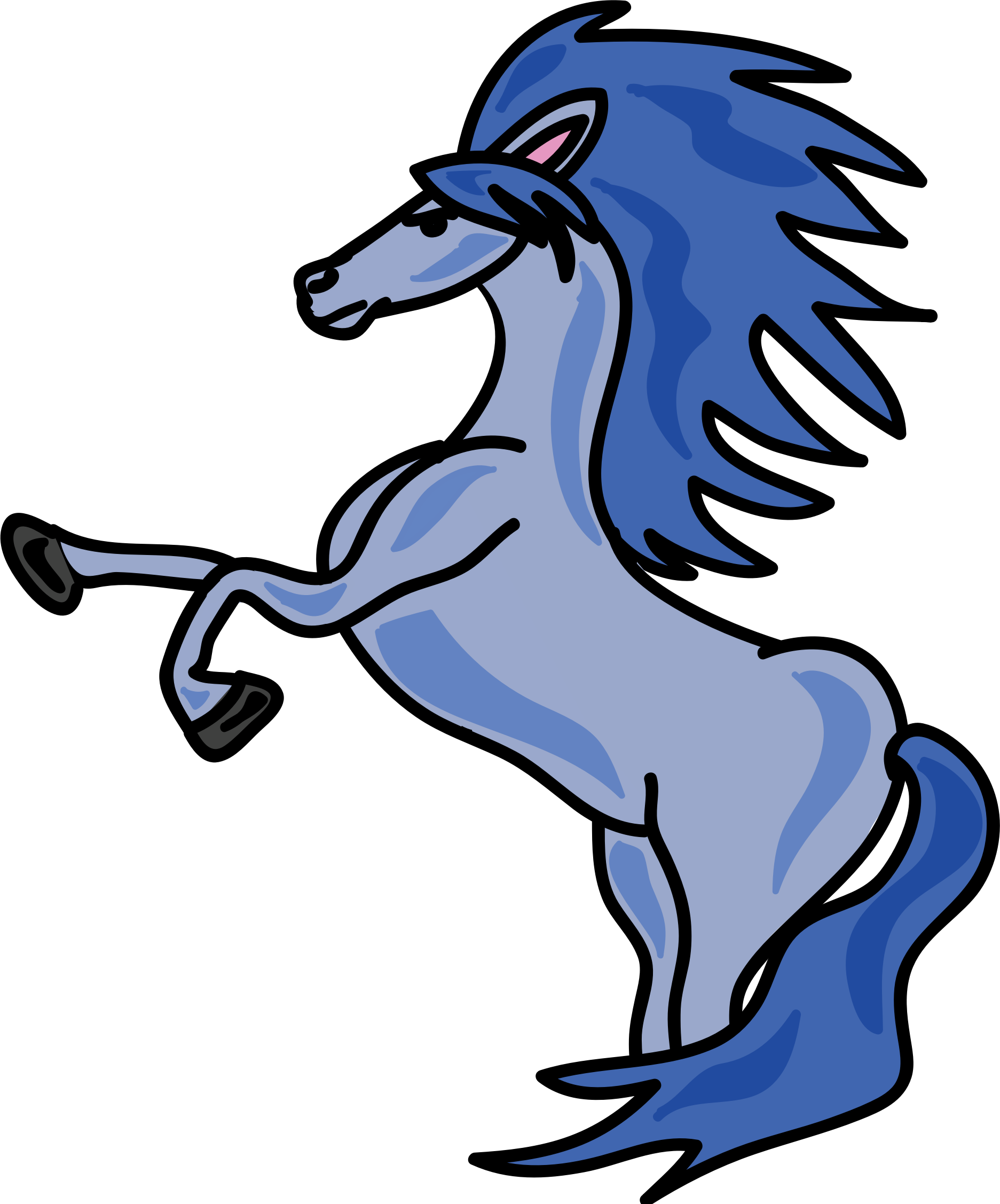 clipart horse domestic animal