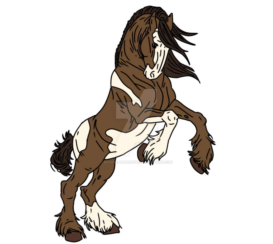 Clydesdale drawing at getdrawings. Clipart horse elegant