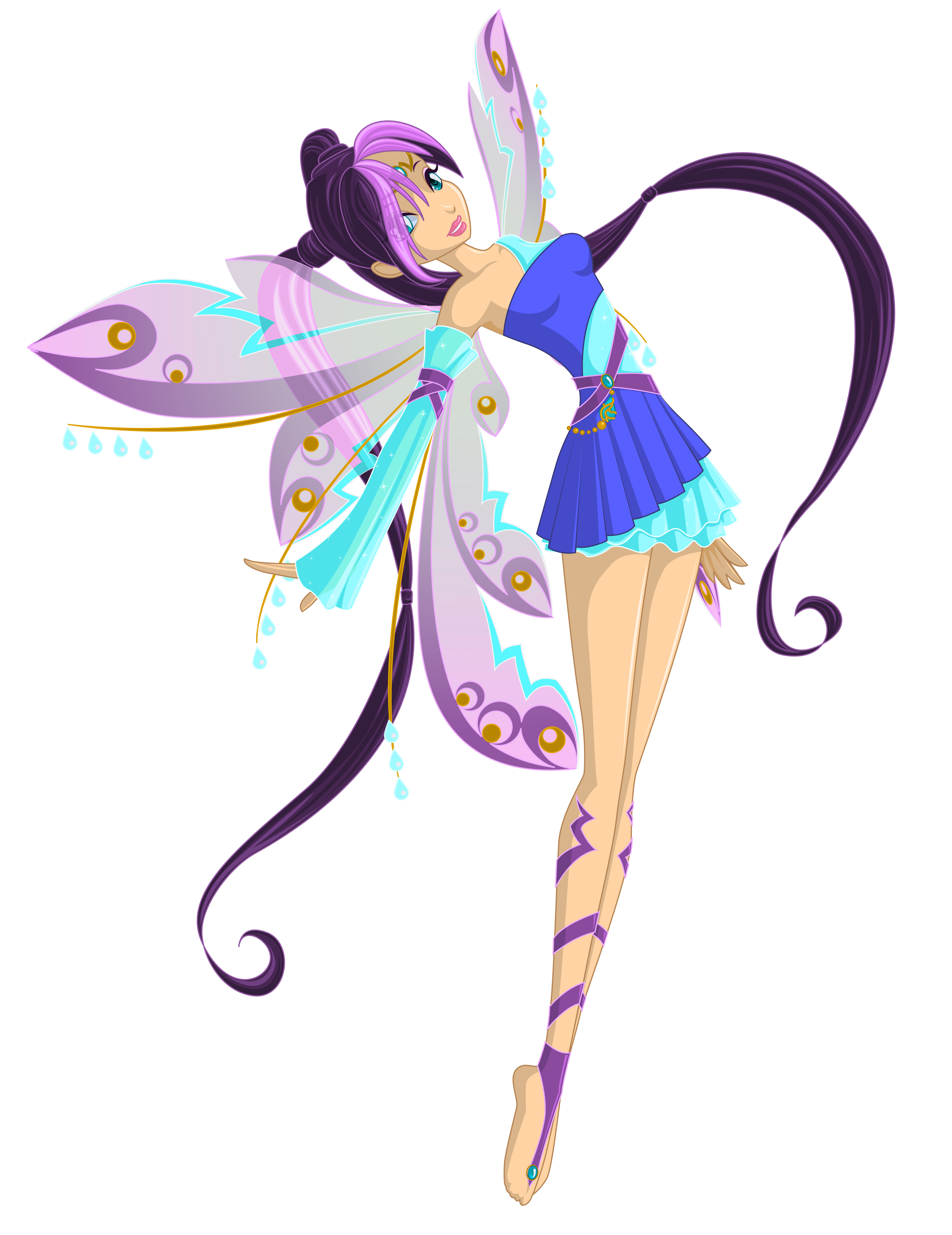 Purple fairy png clip. Windy clipart blizzard