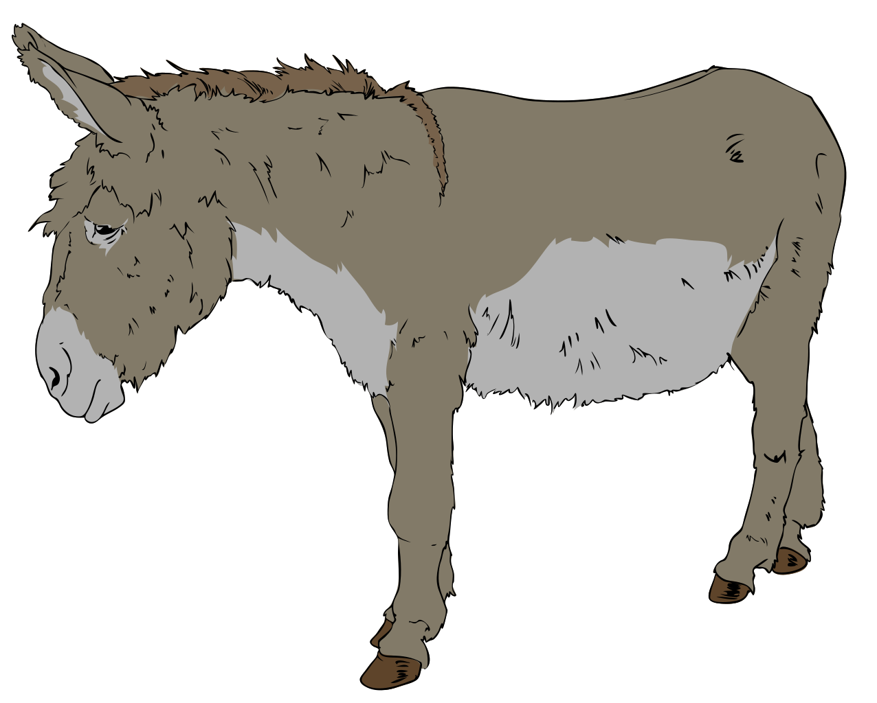 Politics clipart donkey. File svg wikipedia filedonkey