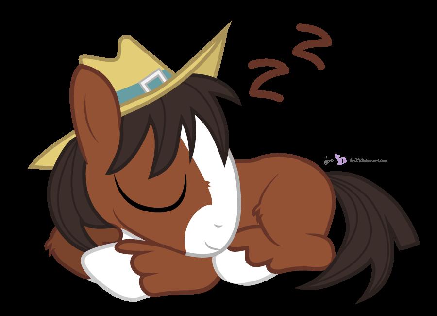 Sleepy trouble by dm. Clipart horse foal