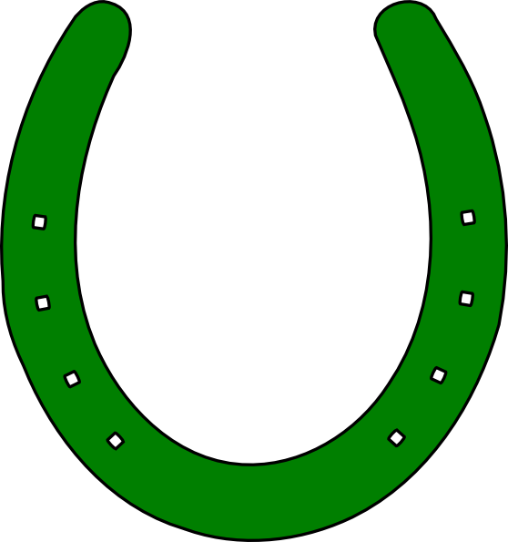 Horse shoe outline clip. Horseshoe clipart black and white