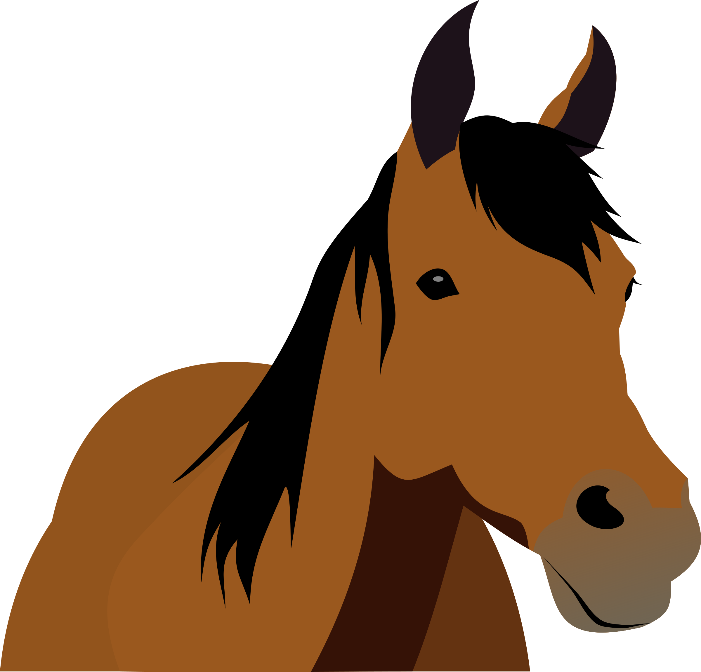 Horse clipart thanksgiving.  collection of front