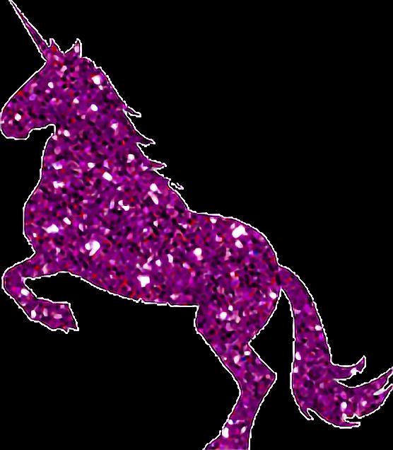 Clipart unicorn glitter. Pink glittery glitterunicorn
