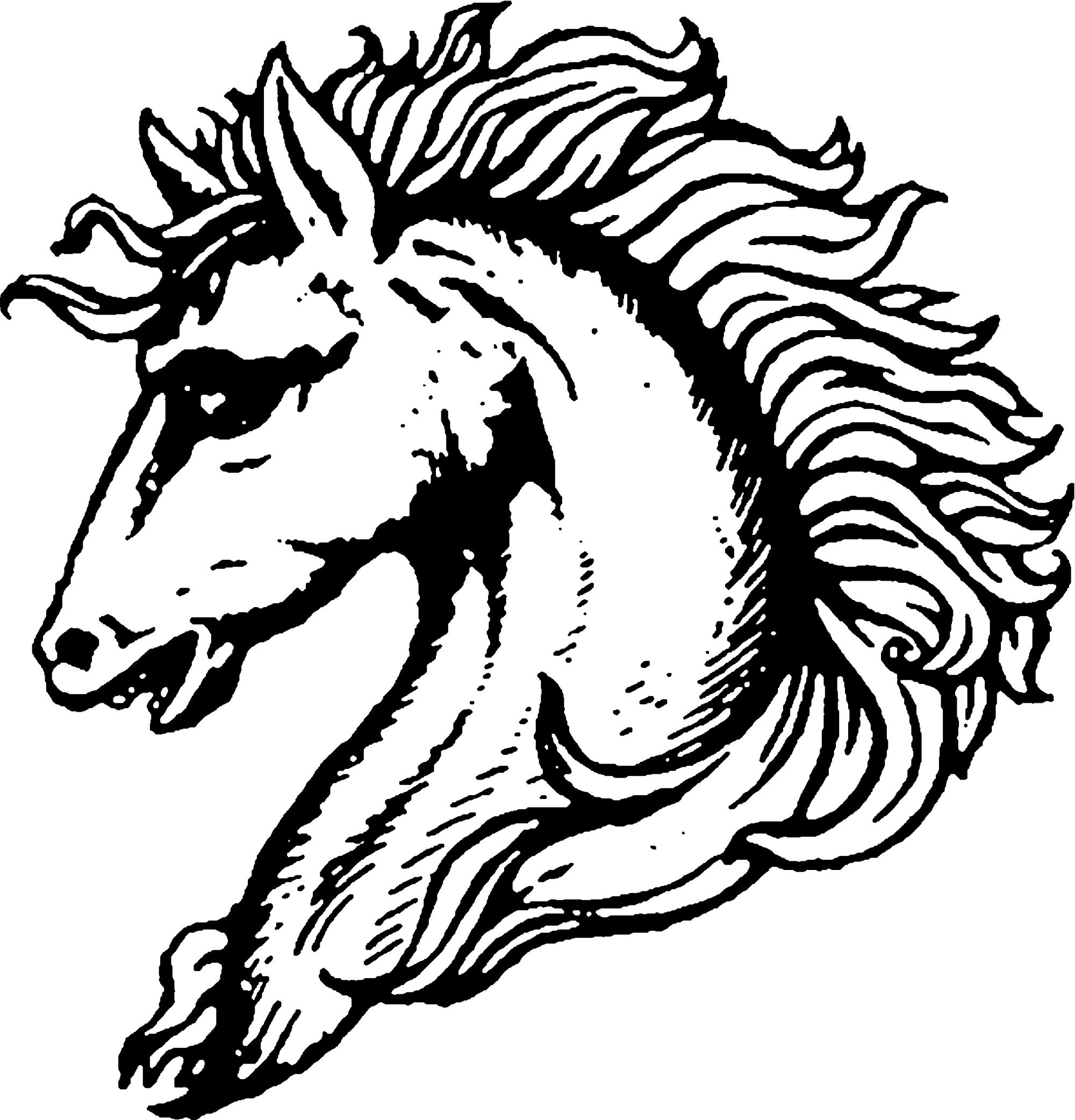 Horse drawing pictures at. Pen clipart head