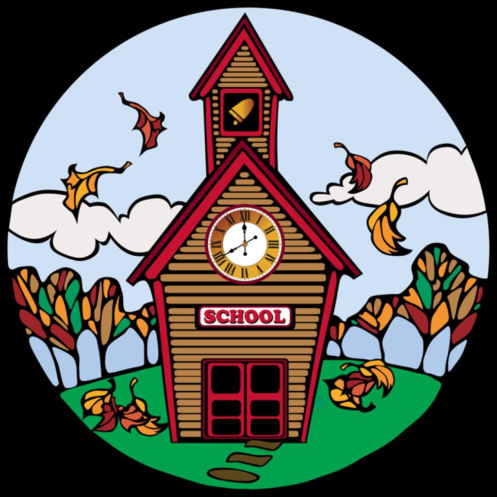 School free horse hatenylo. Schoolhouse clipart schhol