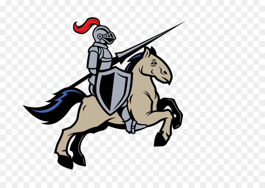 Knight clipart horse clip art. Cartoon equestrian illustration