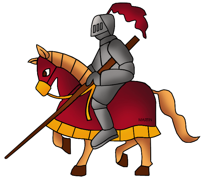 Knight clipart horse clip art. Military by phillip martin