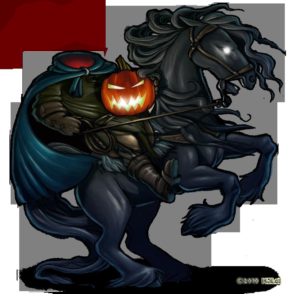 Headless horseman png images. Clipart horse man