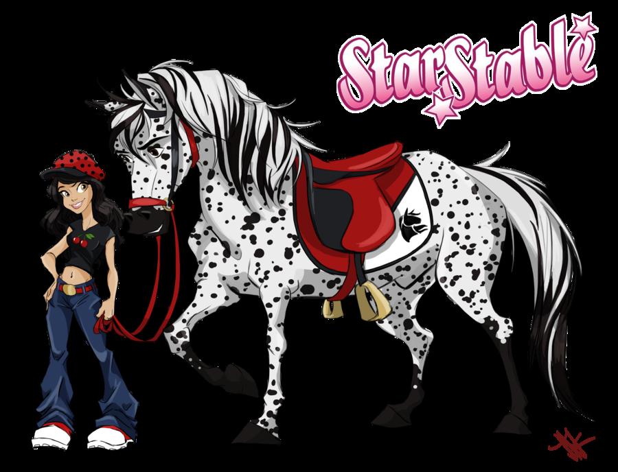 Starstable character by muimushroom. Clipart horse morgan horse