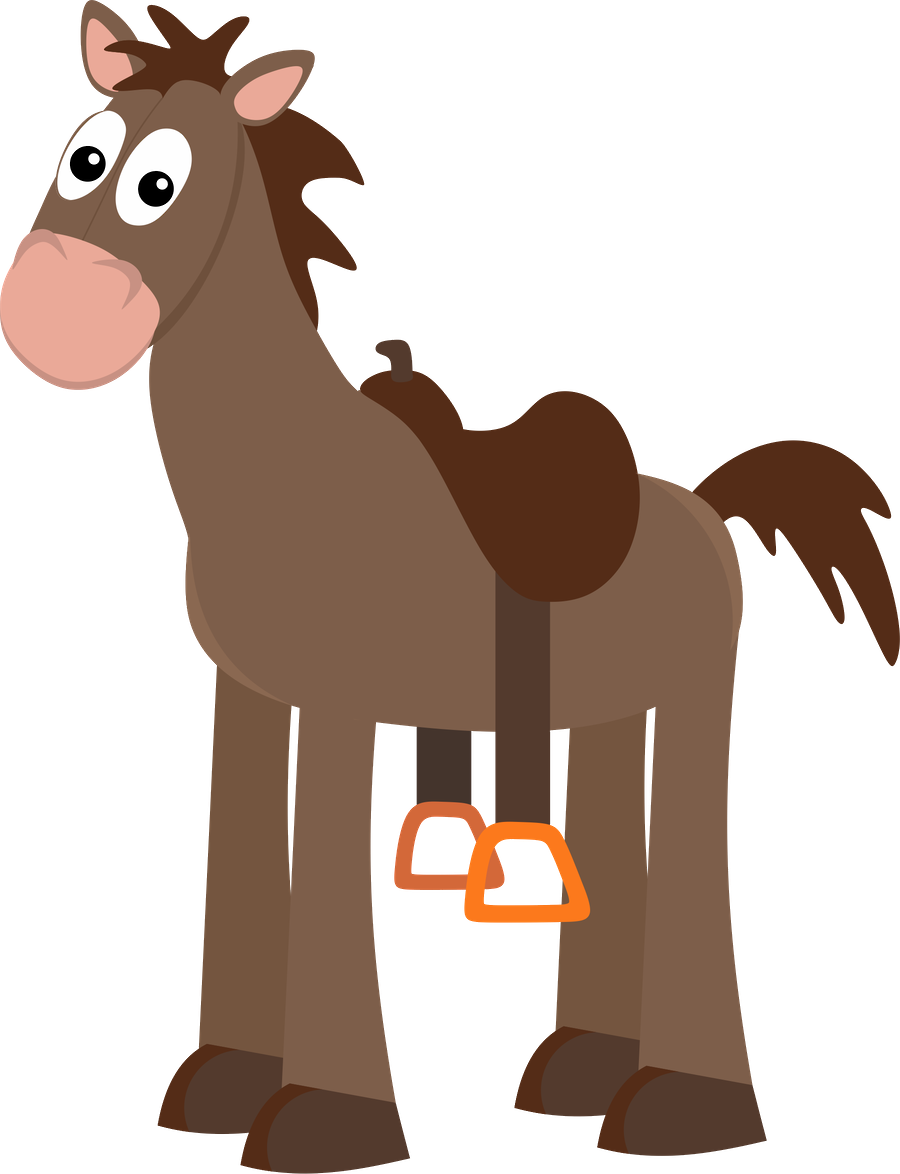 Clipart horse party. Toy story minus clip