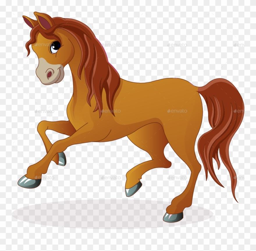 Clipart horse pony. Brown imagenes de caballos