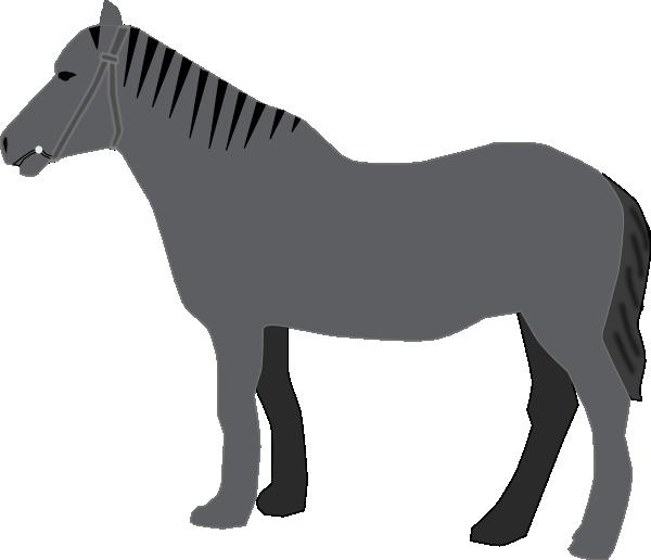 Clipart horse pony. Clip art at clker