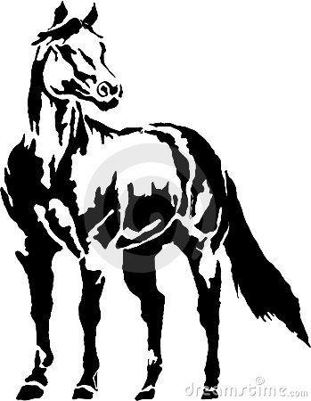 Clipart horse quarter horse. Western halter clip art