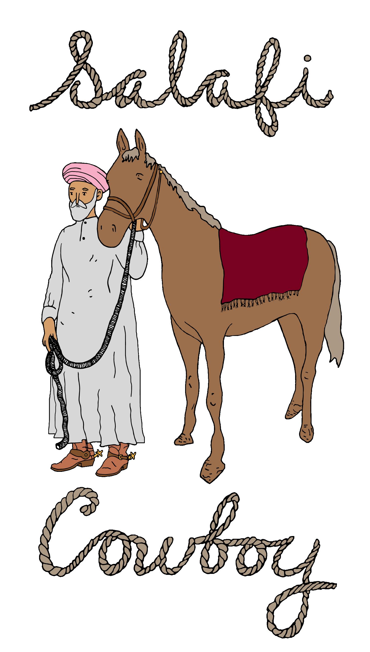 Salafi . Cowboy clipart early history american
