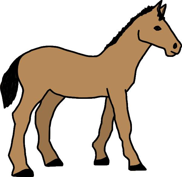Foal at getdrawings com. Clipart horse showmanship