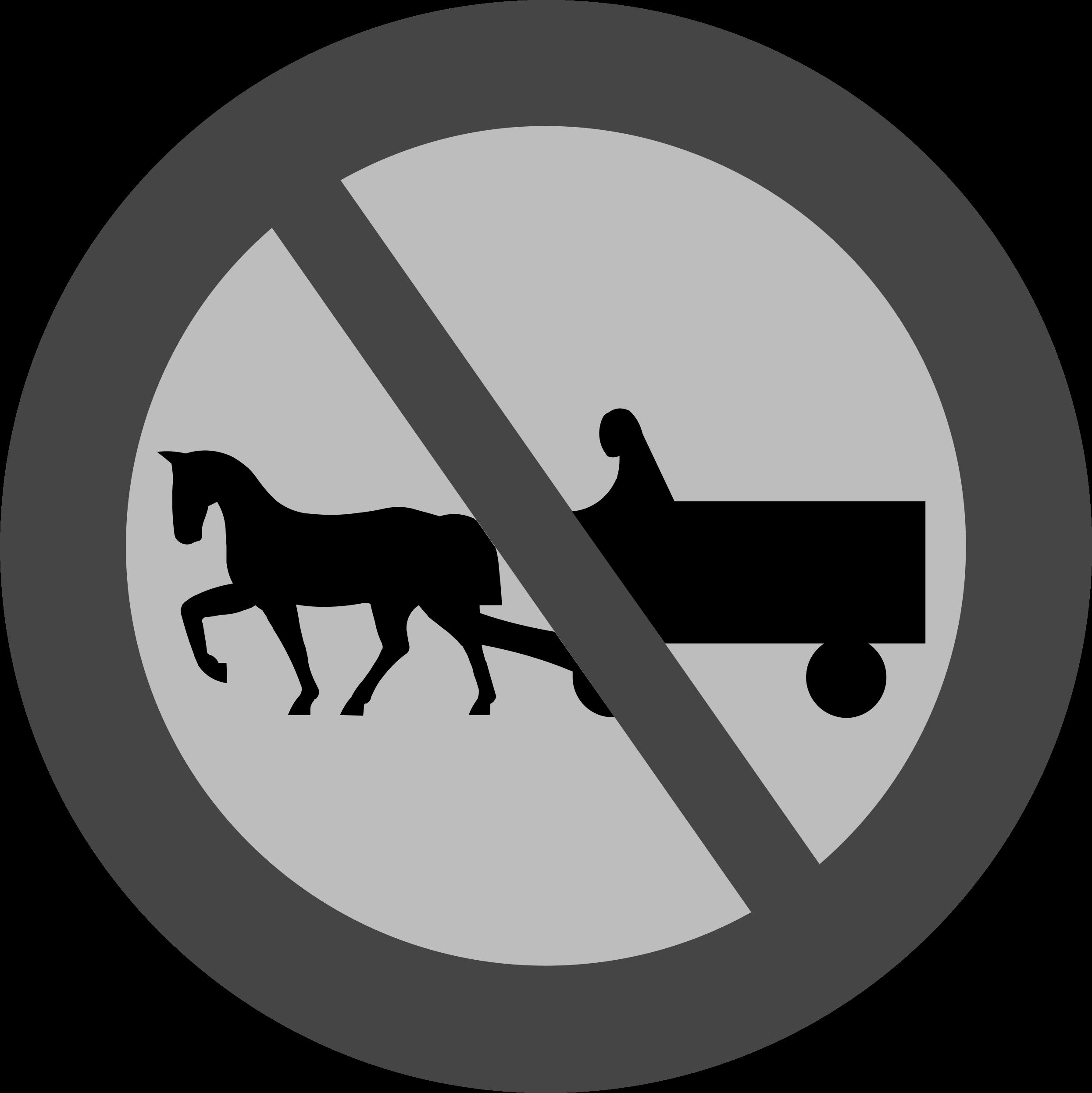 Horse clipart sign. Animal free black white