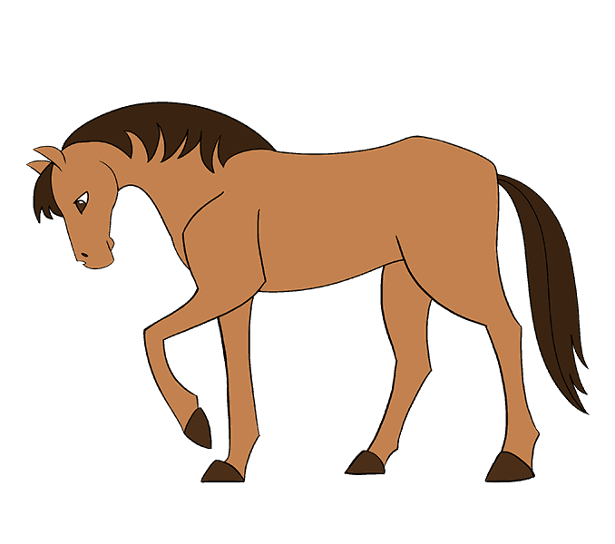 Drawing at getdrawings com. Clipart horse simple