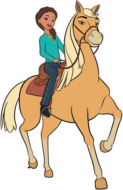 Riding free clip art. Clipart horse spirit