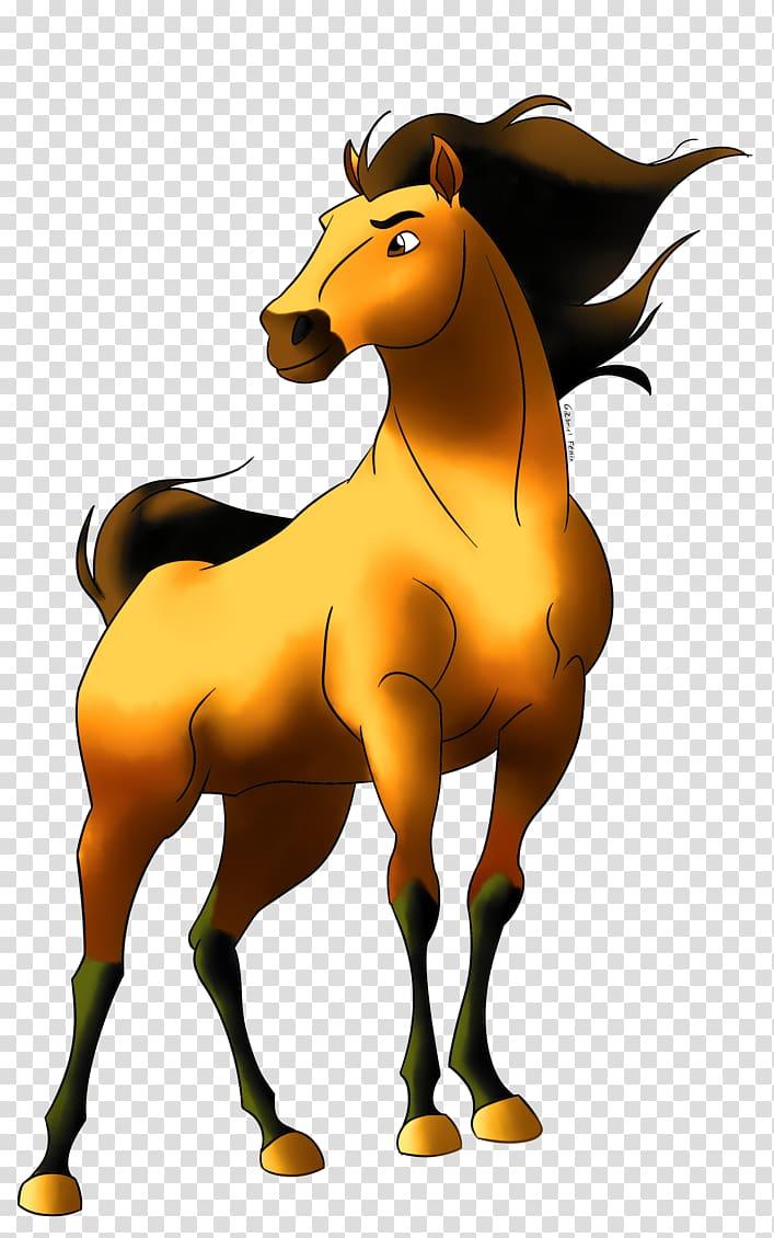 Clipart horse spirit. Mustang stallion youtube drawing