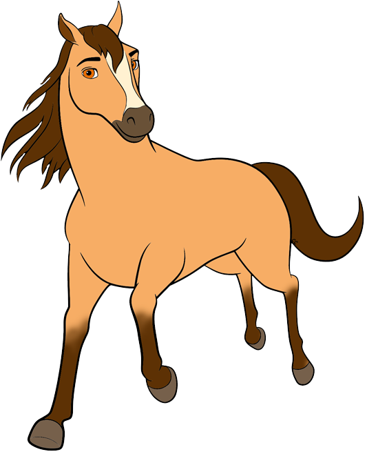 Mustang clipart lady. Spirit riding free clip