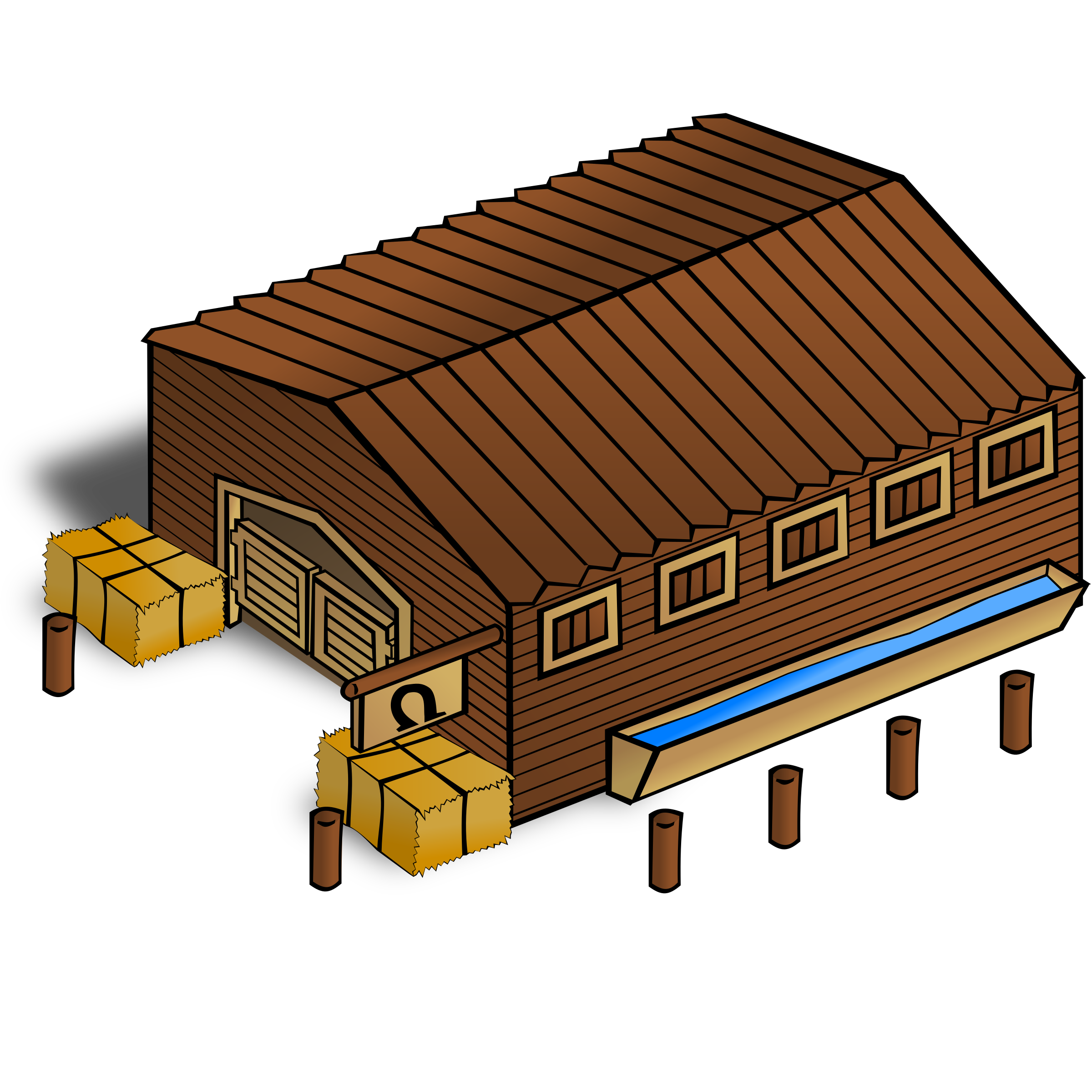 Horses clipart stable. Rpg map symbols stables