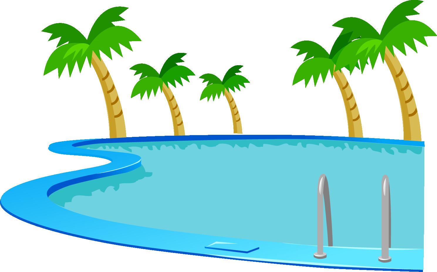 Lake clipart pool. Swimming at getdrawings com